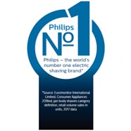 Philips Shaver Series 6000 Number 1 Logo