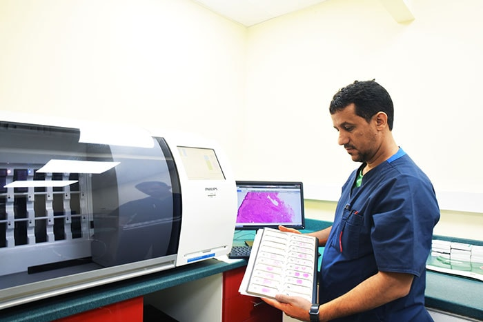 Philips IntelliSite Pathology Solution at Al Borg Medical Laboratories